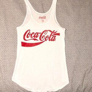 NWOT Chasor Coca-Cola Tank Size Large